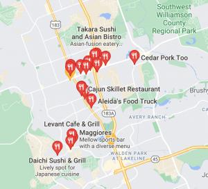 cedar-park-seo-restaurant-example